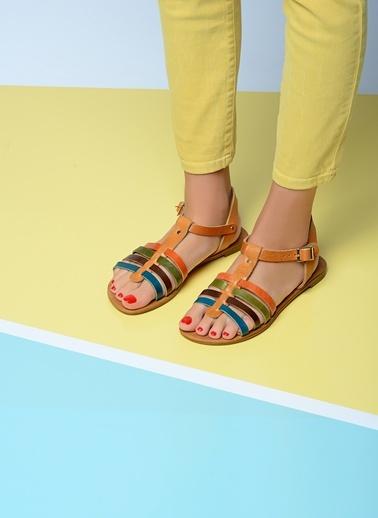 Gio & Mi %100 Deri Sandalet